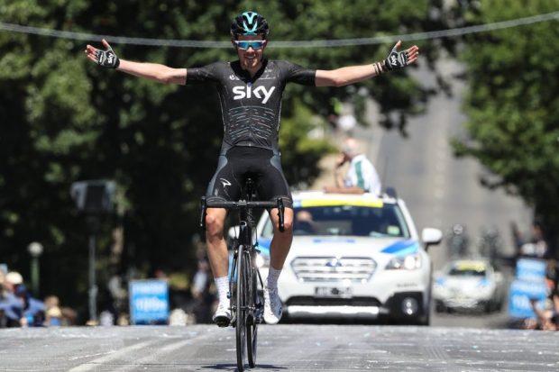 Rowe gana la 2ª etapa del Heral Sun  Tour