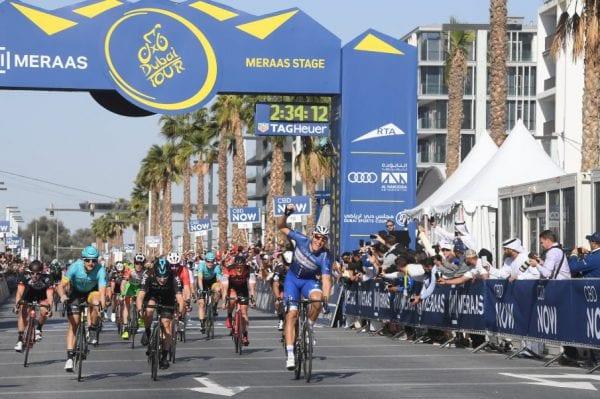 Marcel Kittel gana la 5ª etapa del Dubai Tour