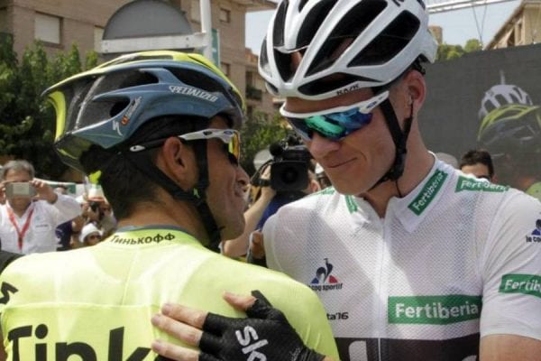 Contador y Froome