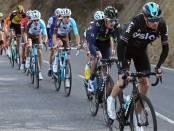 Froome y Valverde antes de intentarlo