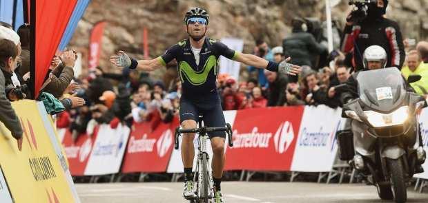 Valverde gana la 5ª etapa de la Volta a Catalunya