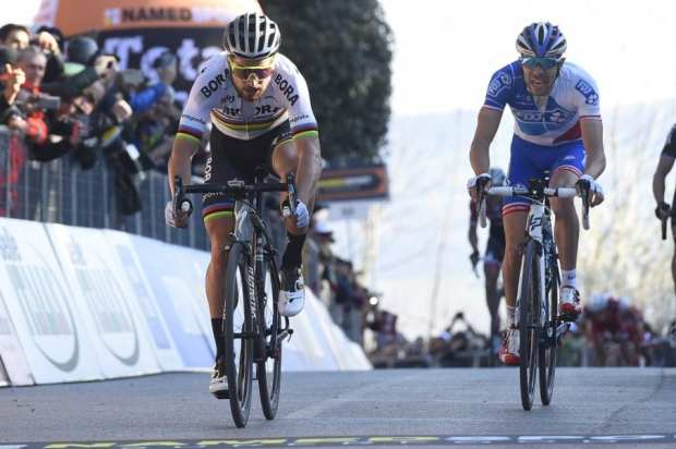 Sagan gana la quinta etapa de la Tirreno - Adriático