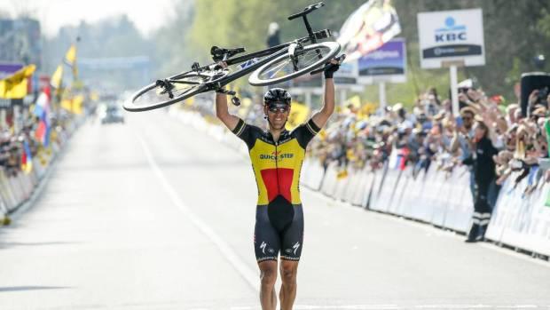 Gilbert gana el Tour de Flandes