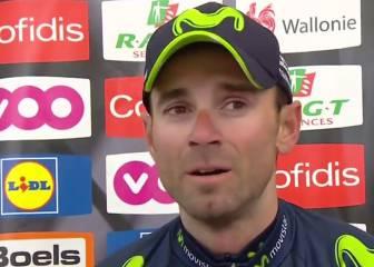 Valverde llorando por Scarponi
