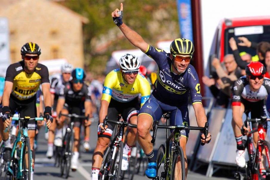 Albasini gana la segunda etapa Vuelta al País Vasco