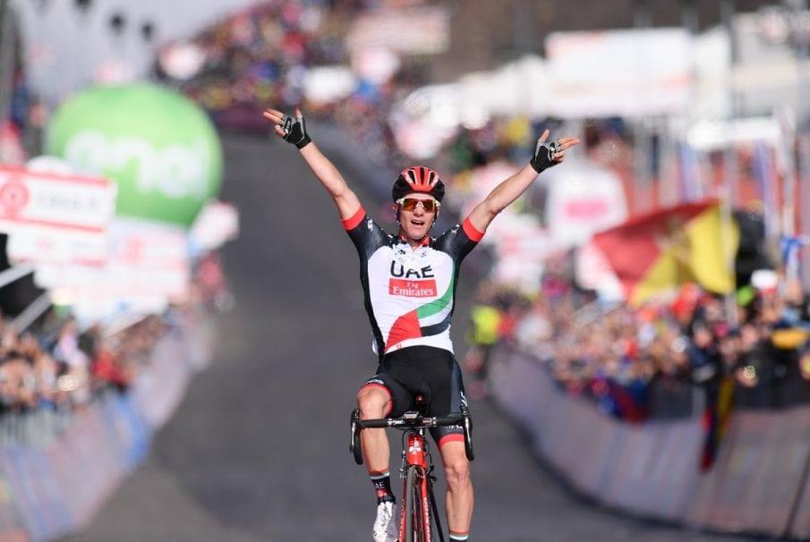Jan Polanc gana la cuarta etapa del Giro de Italia