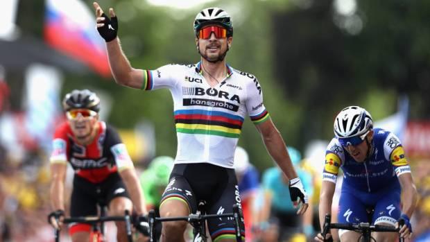 Sagan gana la tercera etapa del Tour de Francia