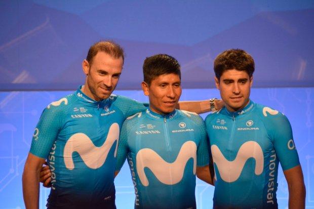 Alejandro Valverde, Nairo Quintana y Mikel Landa irán al Tour