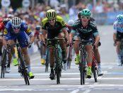 Elia Viviani en la Cadel Evans Road Race