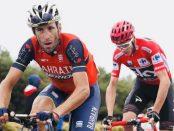 Vincenzo Nibali y Froome en la Vuelta a España