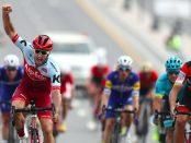 Nathan Haas gana la segunda etapa del Tour de Omán