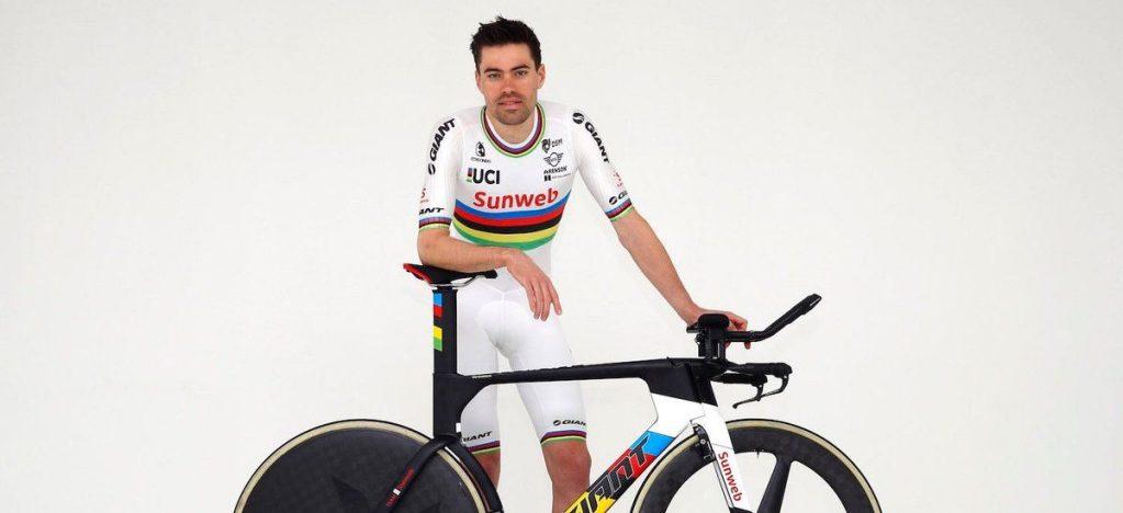 Tom Dumoulin maillot campeón del mundo