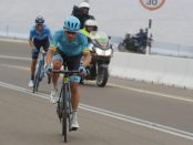 Miguel Ángel López en la 5ª etapa del Abu Dhabi Tour