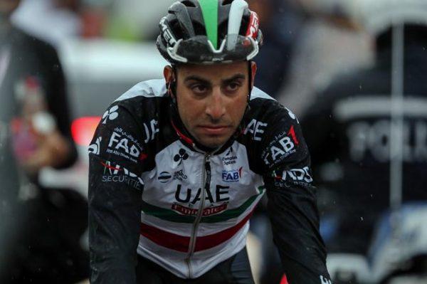 Fabio Aru en el Giro de Italia