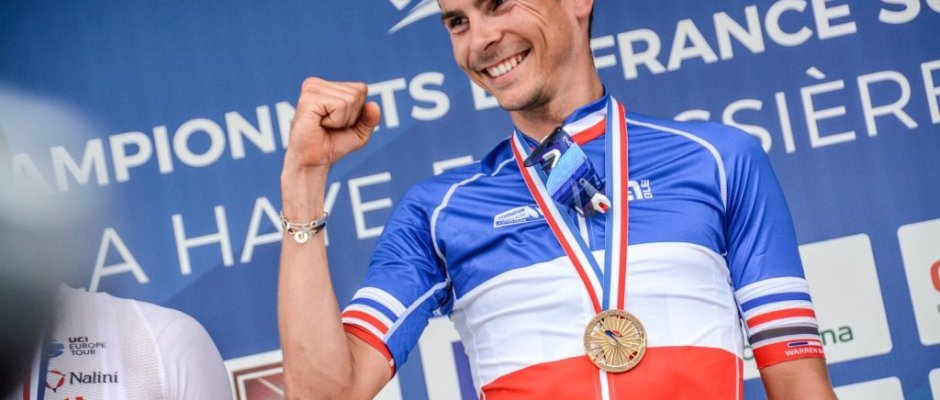 Warren Barguil, campeón de Francia