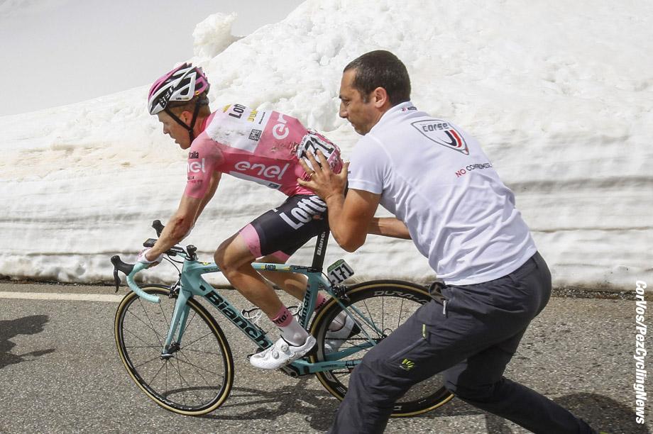 99th Giro d'Italia 2016 stage - 19