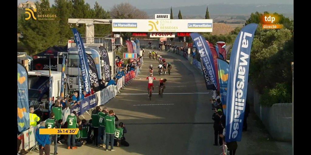 Laporte vence en la primera etapa de Etoile de Besseges