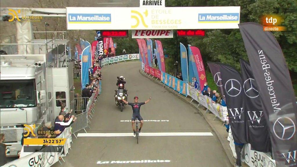 Filippo Ganna 4ª etapa Etoile de Besseges