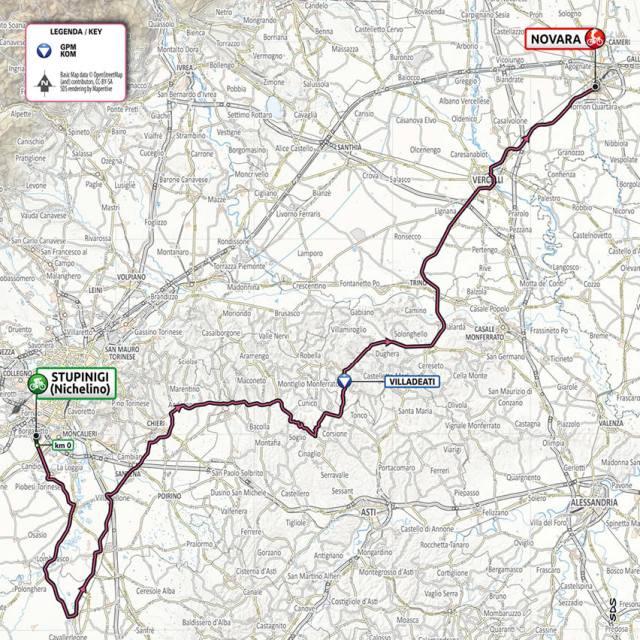 Plano etapa 2 Giro de Italia 2021
