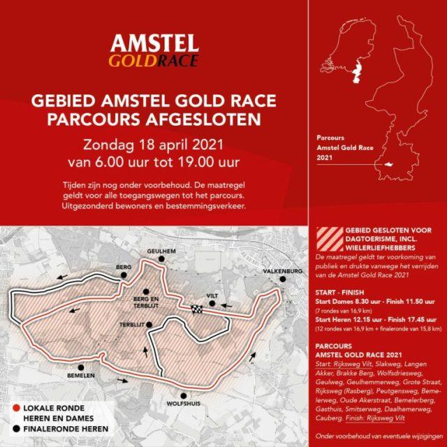 Recorrido Amstel Gold Race 2021