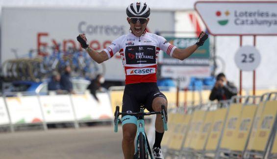 Esteban Chaves gana la cuarta etapa de la Volta a Catalunya