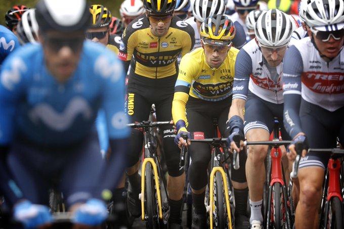 Primoz Roglic en la Vuelta al País Vasco