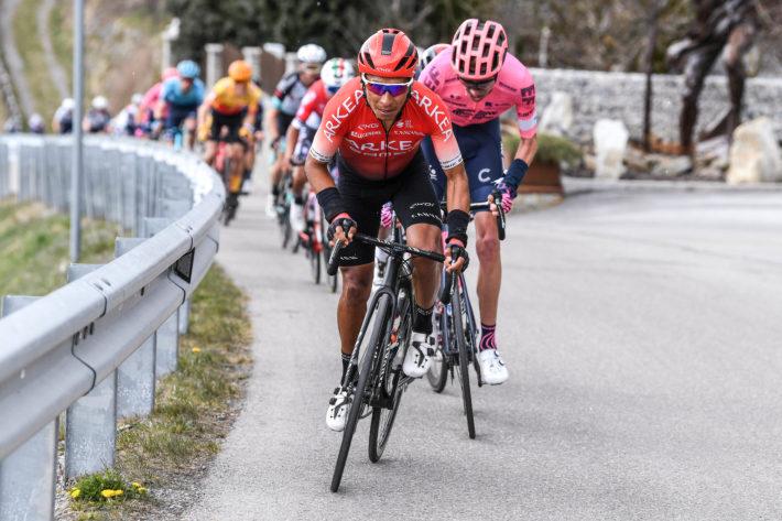 Nairo Quintana en el Tour de los Alpes