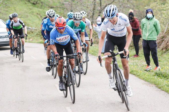 Nairo Quintana en la segunda etapa de la Vuelta a Asturias