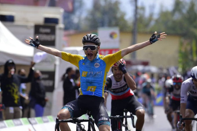 Alan Boileau gana la segunda etapa del Tour de Ruanda