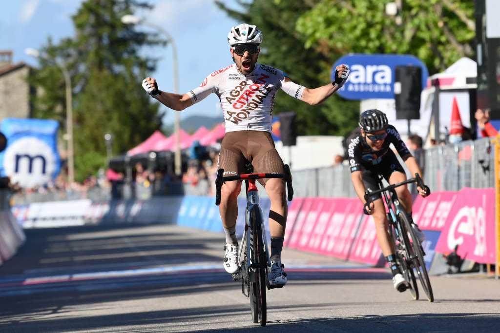 Andrea Vendrame gana la 12 etapa del Giro de Italia