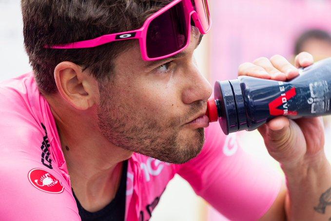 Filippo Ganna en la tercera etapa del Giro de Italia