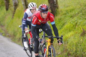 Mikel Landa en la cuarta etapa del Giro de Italia