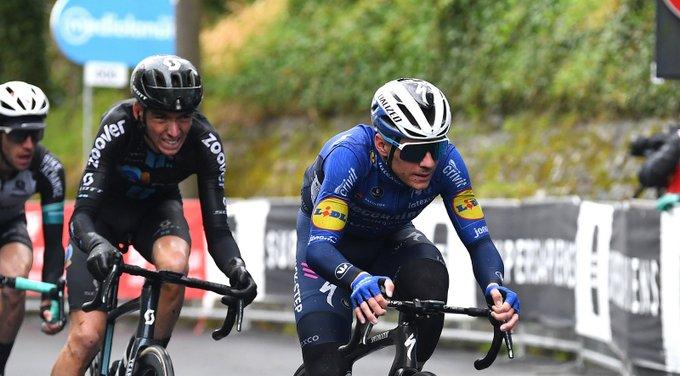 Remco Evenepoel en la cuarta etapa del Giro de Italia