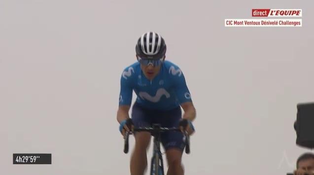 Miguel Ángel López gana en Mont Ventoux