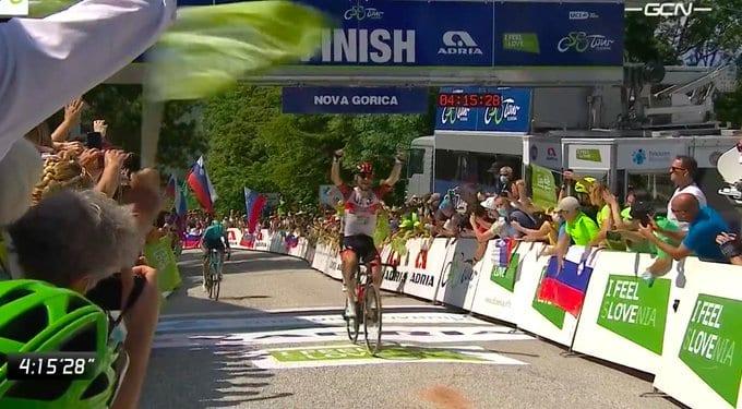 Diego Ulissi gana la 3ª etapa del Tour de Eslovenia
