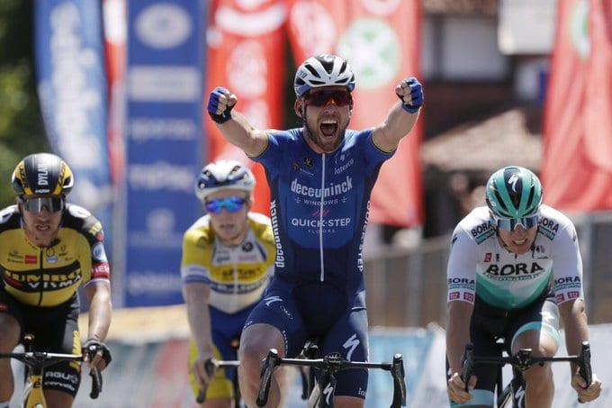 Mark Cavendish gana la quinta etapa del Tour de Bélgica