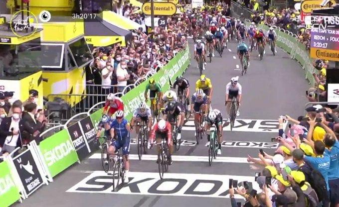 Mark Cavendish gana la 4ª etapa del Tour de Francia