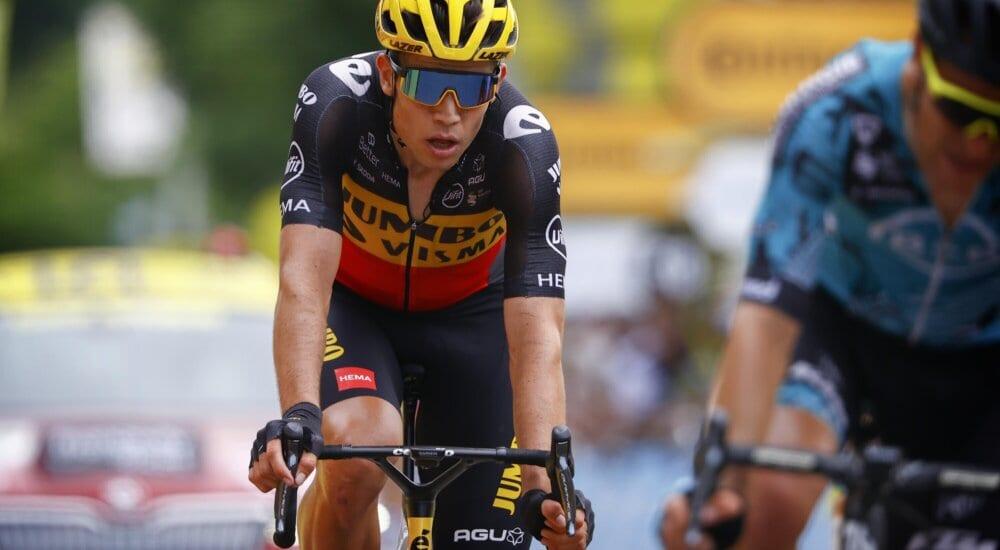Wout Van Aert en la séptima etapa del Tour de Francia