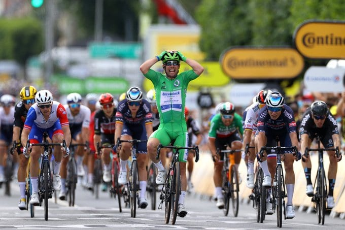 Mark Cavendish gana la sexta etapa del Tour de Francia
