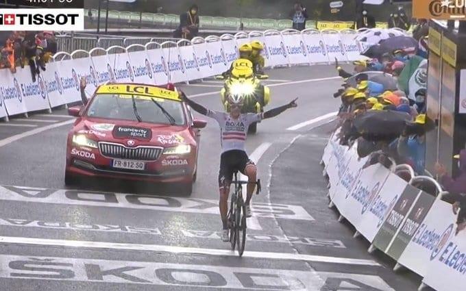 Patrick Konrad gana la 16ª etapa del Tour de Francia