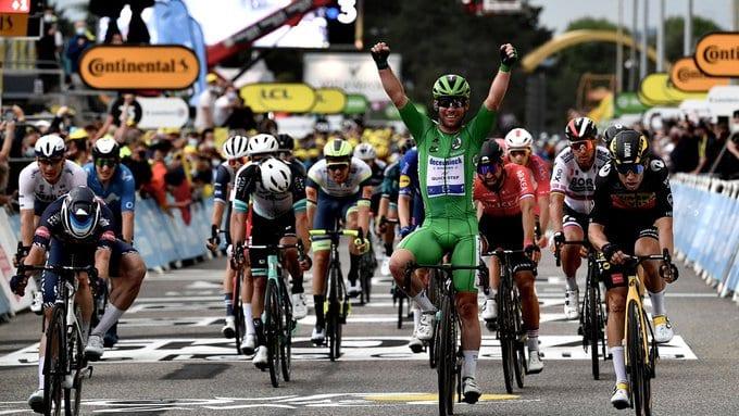 Mark Cavendish gana la 10ª etapa del Tour de Francia 2021