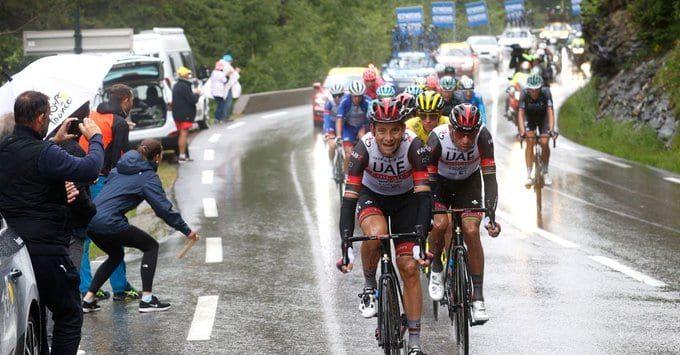 Davide Formolo en el Tour de Francia