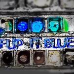 flip it blue