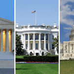 Supreme Court, White House, and Congress