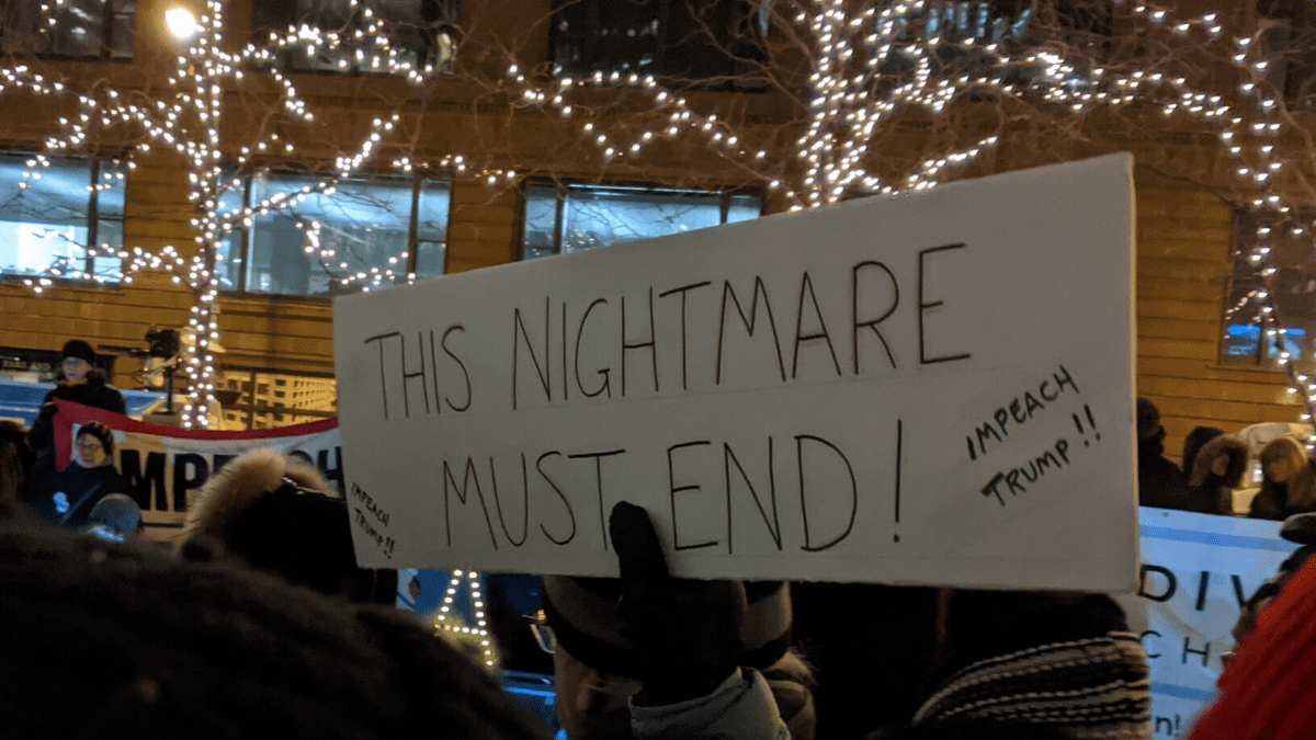 Sign: This Nightmare Must End
