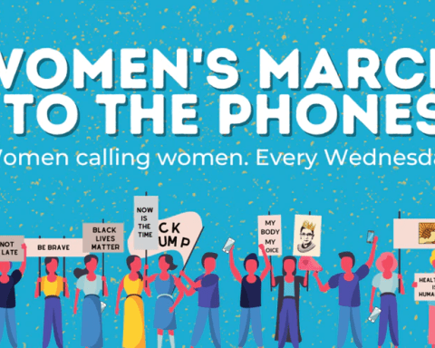 march to the phones