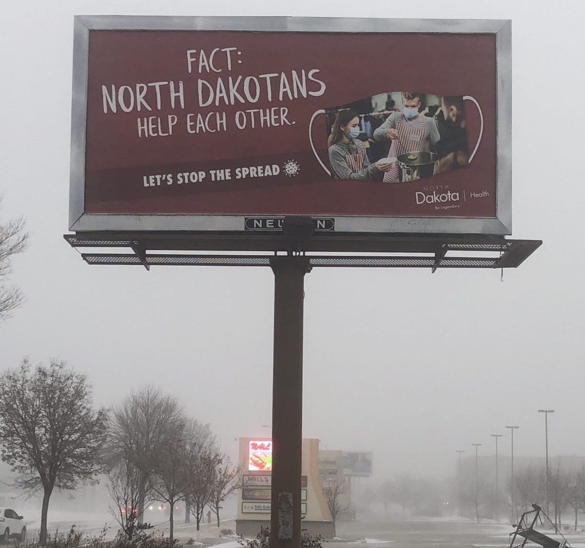 North Dakota Nice Billboard