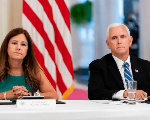 Karen and Mike Pence