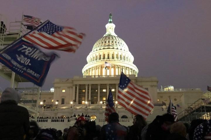 US Capitol. Evening 1/6/21