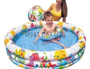 Có nên mua bể bơi phao cho bé?